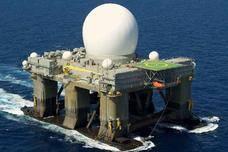 全球最强雷达露真容!美军海基X波段雷达长这样