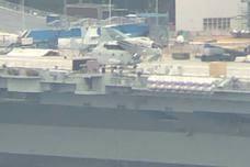 准备第三次海试?舰载机模型再上国产航母